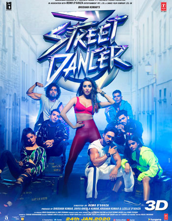 Street Dancer 3D Dvd