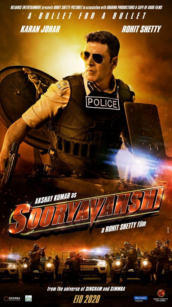 Sooryavanshi Dvd