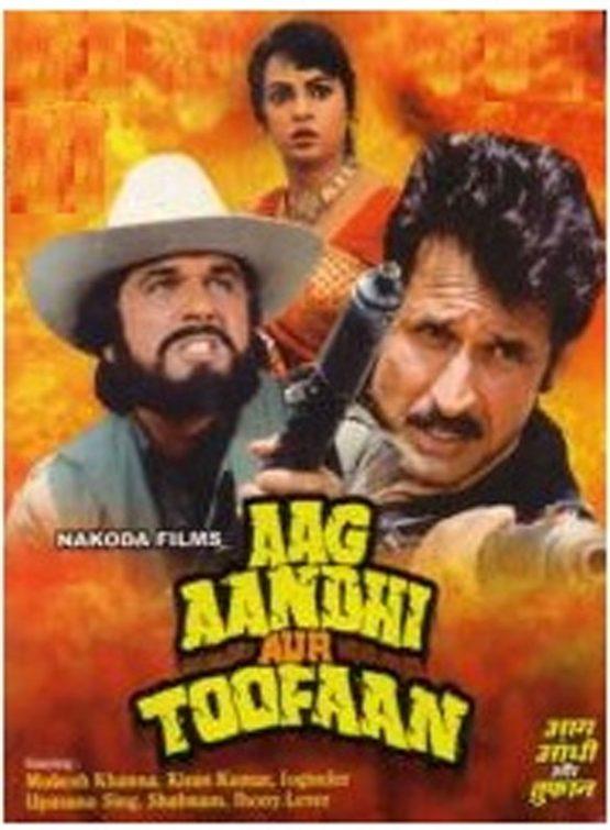 Aag Aandhi Aur Toofan Dvd